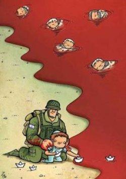 تاثیر اخبار خشونت بار بر کودکان