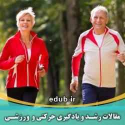 مقاله اثر تصویرسازی پتلپ و تمرین تعادلی بر تعادل پویای سالمندان