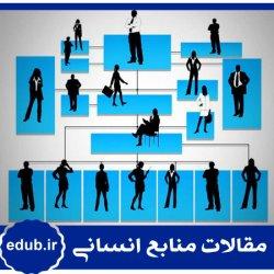 مقاله تدوین استراتژی منابع انسانی در همآهنگی با استراتژی کسبوکار، فرهنگ و ساختار سازمانی