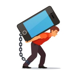 نشانه های اعتیاد به گوشی موبایل و راهکارهای کاهش آن