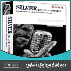 نرم افزار تبدیل سریع عکس های رنگی به تصاویر سیاه و سفید Franzis Silver Projects Premium
